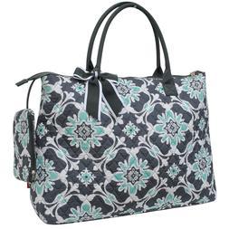 Quatre Vine NGIL® Quilted OverNight Tote Bag