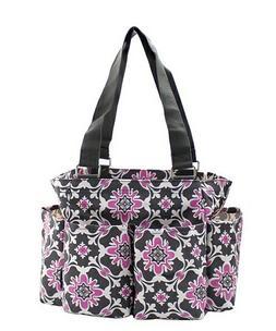 Quatro Vine NGIL Small Zippered canvas purse Caddy Organizer