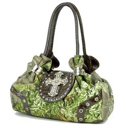 Realtree® Womens Vintage Handbags Camouflage Shoulder Bag T