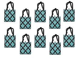 ReBagMe  Set of 10 Large Reusable Grocery Bag Totes - Extra