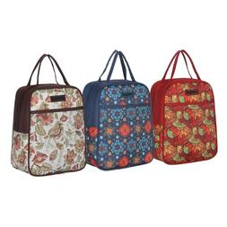 Recycle Cooler Insulated Lunch Bag for Family Women Men Kids