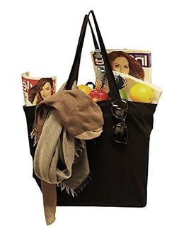 Earthwise Reusable Grocery Bag Shopping Tote 100% Natural Co