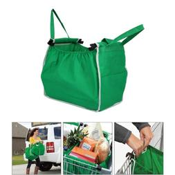 Reusable Grocery Shopping Tote Bags Eco Foldable Trolley Car