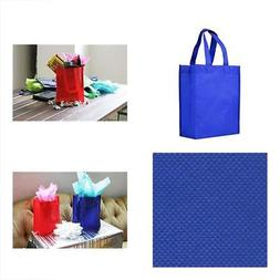 Reusable Lunch Bags Gift / Party Tote - 25 Pack Royal Blue G