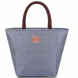 TianQin WY Reusable Lunch Tote Bag for Women Oxford Cloth Wa