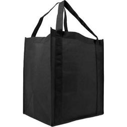Reusable Reinforced Handle Grocery Tote Bag Large 10 Pack  K