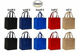 Tote Grocery Storage Shopping Reusable Bags Foldable Large G
