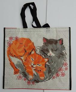 REUSABLE SHOPPING TRAVEL TOTE BAG CATS2 ECO FRIENDLY MARSHAL