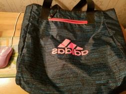 REVERSIBLE ADIDAS TOTE BAG PRE-OWNED COLOR SPACE BLUE!!!