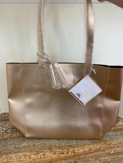 Michael Kors Rose Gold Chic Tote Bag 2019 Purse Weekender Sh