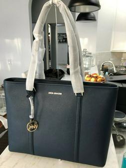 sady large multifunctional tote bag navy blue