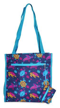 Sea Turtle Womens Small Tote Bag Handbag Purse for Travel Wo