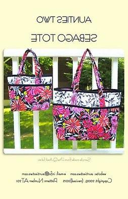 Sebago Tote Bag Sewing Pattern From Aunties Two Patterns