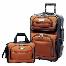 Traveler's Choice Travel Select Amsterdam 2 Piece Carry-On L
