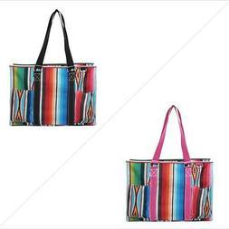 Serape NGIL® Zippered Caddy Organizer Tote Bag