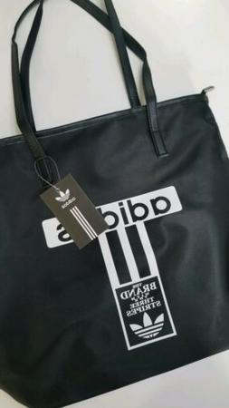 sleek black tote bag trendy casual quality