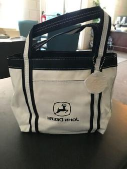 John Deere Small Tote Bag with Keychain New