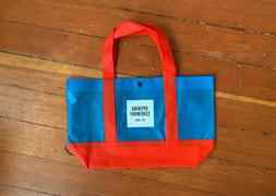 Opening Ceremony Snap Closure Shopping Hand Small Tote Bag n