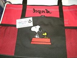 Snoopy Doghouse Personalized Tote Bag Any color Snoopy Tote