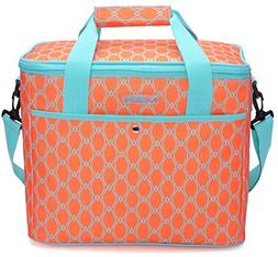 79ad44069a MIER 18L Large Soft Cooler Insulated Picnic Bag for Grocery
