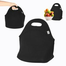Soft Polyester Lunch Tote Bag Handbag - Lightweight Insulate
