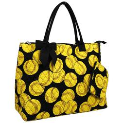 Softball NGIL® Quilted OverNight Tote Bag