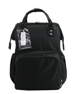 Solid Black NGIL Diaper Bag Baby Kids Toddler Mom Bag Backpa