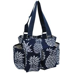 Southern Pineapple NGIL® Small Zippered Caddy Organizer Tot