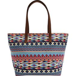Southwest Native American Indian Print Style Handbag Purse D
