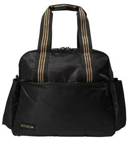 Adidas Sport To Street Tote Bag, Black/Gold Leurex, One size