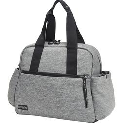 Adidas Sport to Street Tote Bag | Jersey Knit Grey/Black | B