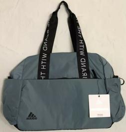 adidas Sport to Street Tote Gym Travel Bag Raw Green/Black N