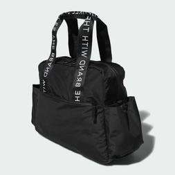 Adidas Sport to Street Tote Shoulder Bag Duffel Gym Black Wh