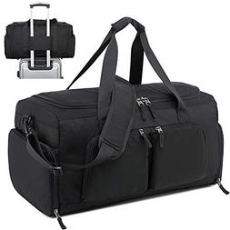 Sport Travel Duffel Bag with Shoe Compartment for Men Gym We