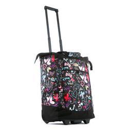 Olympia Sports Plus Rolling Shopper Tote Bag, Wheeled Handba
