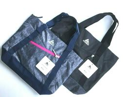 Adidas Squad III Tote Bag Black or Onix Magenta Pink Jersey