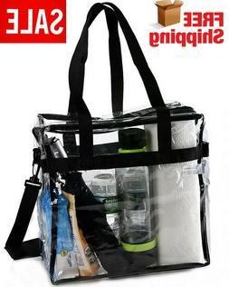 Stadium Approved Handbag NFL PGA Clear Tote Bag Transparent