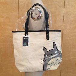Loungefly Studio Ghibli My Neighbor Totoro Canvas Large Tote