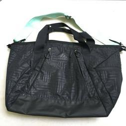 adidas Studio II Duffel Tote Bag Gym Workout Travel Bag Blac