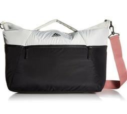 Adidas Studio III Duffel Bag Ash Silver Black NEW Gym Baby D