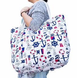 JJMG NEW Summer Beach Bag Stroller Friendly Women's Large
