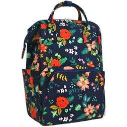 Summer Floral Navy NGIL Diaper Bag Baby Kids Toddler Mom Bac