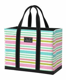 SCOUT Teal & Pink Off Tropic Original Demo  Tote   Bag  NWT