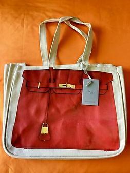 Thursday Friday Together Handbag Canvas Tote Bag Reusable Gr