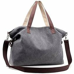 Sanxiner Top Handle Handbag Tote Bag Canvas Crossbody Bags F
