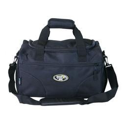 "TOTE BAG 15"" BLACK Duffel Sports Gym Carry On Shoulder Trave"