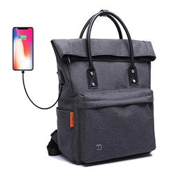 Tote Backpack Convertible with USB Charging Waterproof for S