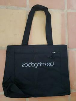 """TOTE BAG FROM BLOOMINGDALES NEW14 x 17"""" WITH ZIPPER CLOSUR"""