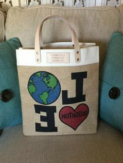 BRIGHTON-Tote Bag- Love Makes the Earth Go Round