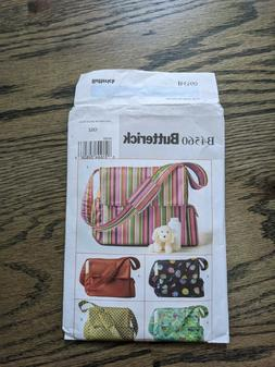 Tote Bag Patterns - Butterick - New, Uncut - Various Styles